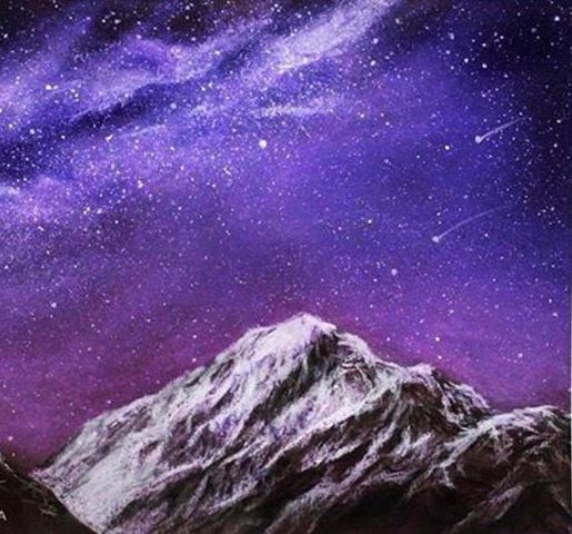 The Galaxy - Soft pastel for beginners