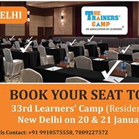 33rd Learners Camp in Delhi (Residential)