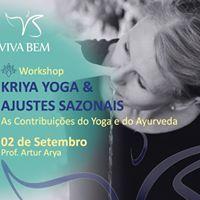Workshop Kriya Yoga &amp Ajustes Sazonais