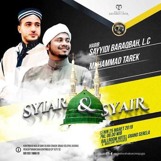 Syiar & Syair - Habib Sayyidi & M. Tareq (Mesir)