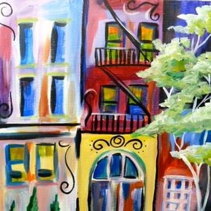 City Growth Painting Class At Painting With A Twist Lake Charles