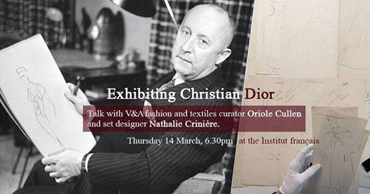 8e592ea0d8e3 Exhibiting Christian Dior at Institut Français du Royaume-Uni
