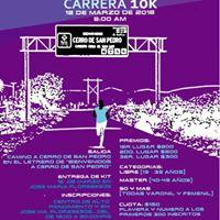 Corriendo Por Cerro de San Pedro 10 kilometros
