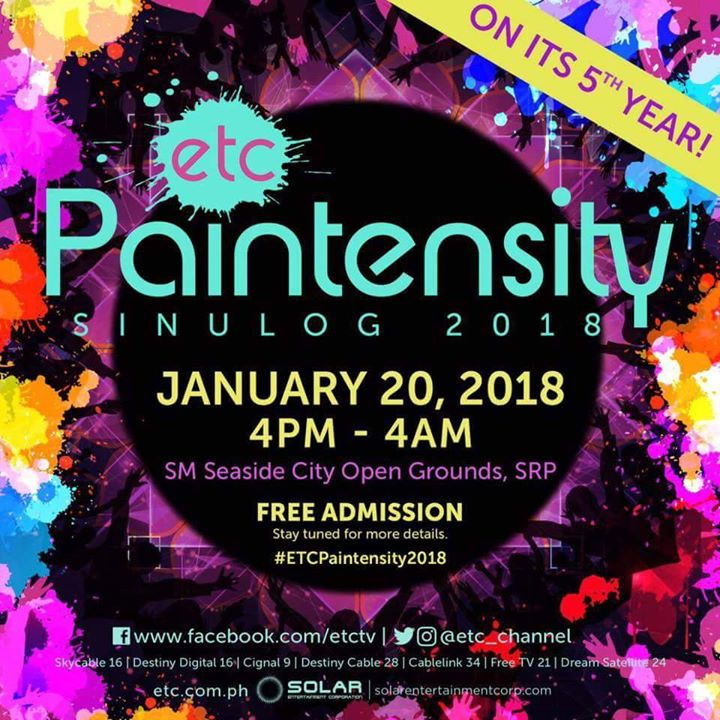 ETC PAINTENSITY 2018