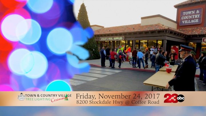 town country village shopping center christmas tree lighting bakersfield - Bakersfield Christmas Town