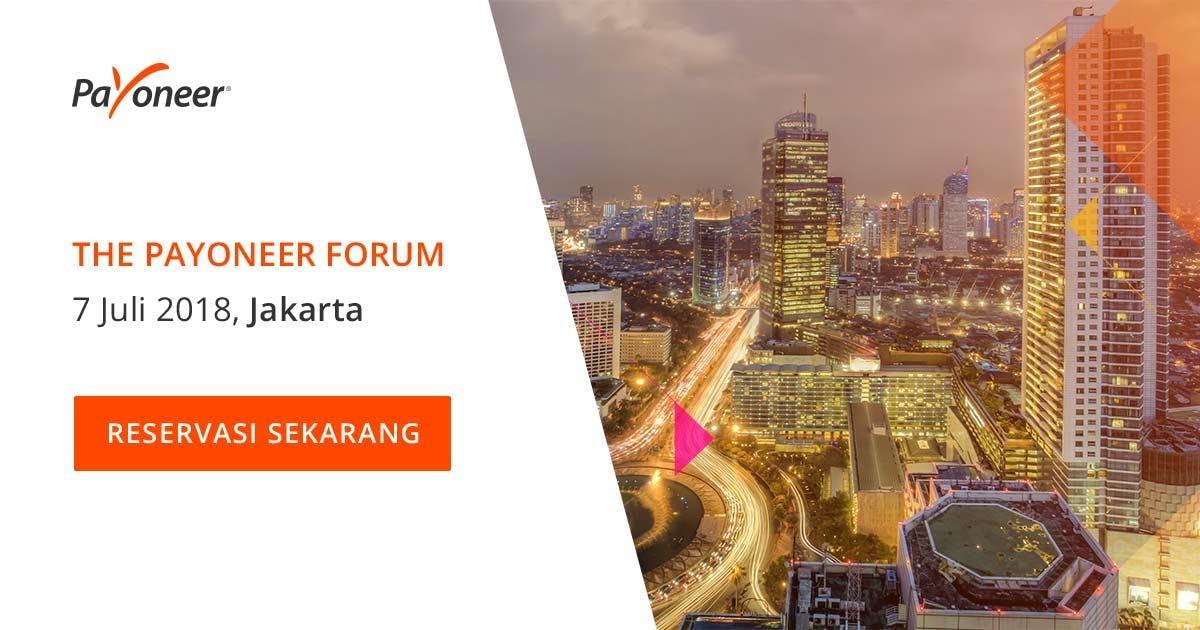 The Payoneer Forum Jakarta - Digital Revolution Summit