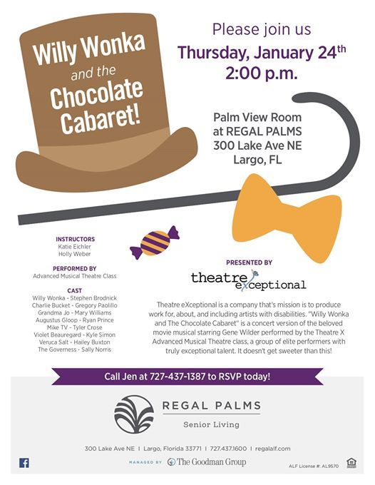 Willy Wonka & The Chocolate Cabaret
