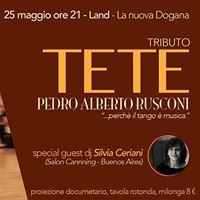 Omaggio a Tete DocuFilm - Milonga Dj Silvia Ceriani BA