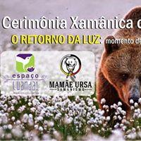 Cerimnia Xamnica de Primavera com Mamae Ursa no Espao Luanda