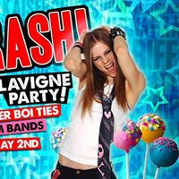 Crash - Avril Lavigne Party Free Sk8er Boi Ties &amp Charm Bands