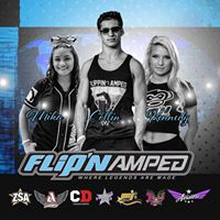 Flippin Amped come to Aviators Cheer