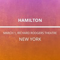 Hamilton in New York