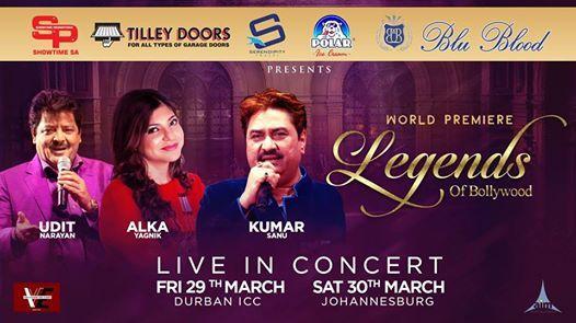 Legends of Bollywood - Durban
