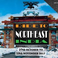 Ride to North East India