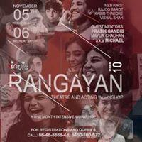 Rangayan - Theatre &amp Acting Workshop (Season 10)