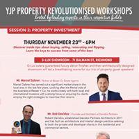 YJP Mentor Workshop  Property Investment