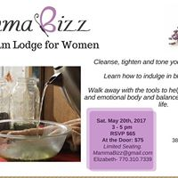 Herbal Steam Lodge for Women