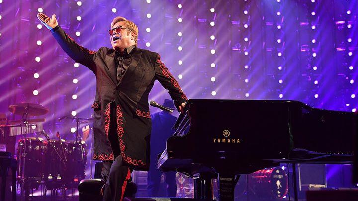 Elton John At Madison Square Garden New York NY