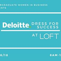 Deloitte Dress for Success