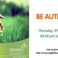 Be Authentic Workshop - Week 3