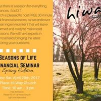 Seasons of Life Financial Seminar