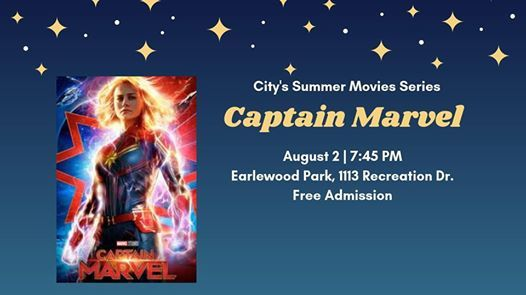 Summer Movies Series: Captain Marvel at Earlewood Park, 1113