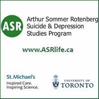 ASR Suicide and Depression Studies Program - St. Michael's Hospital