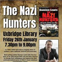The Nazi Hunters with Damien Lewis