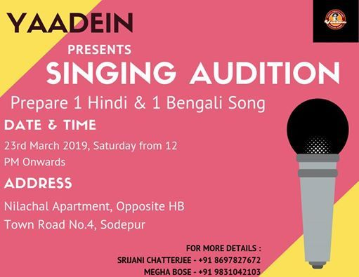 Yaadein  Back To Roots - Singing Audition