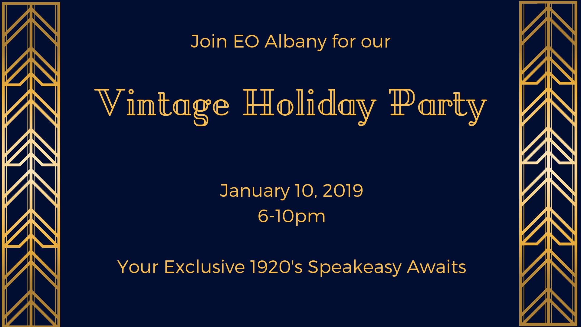 EO Albany Vintage Holiday Party
