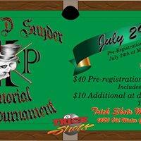 Michael D. Snyder Memorial Pool Tournament