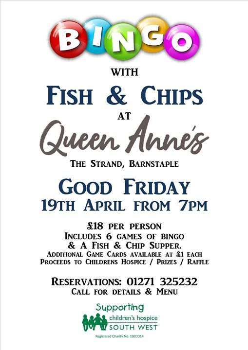 Bingo with Fish & Chip Supper