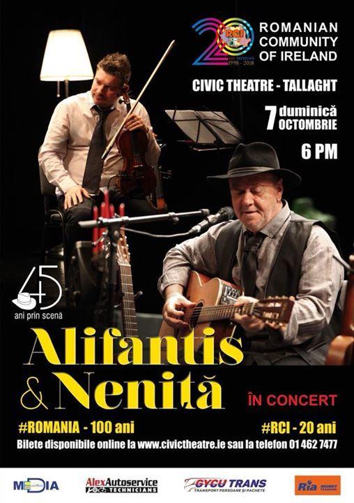 Nicu Alifantis & Mihai Nenita n Concert