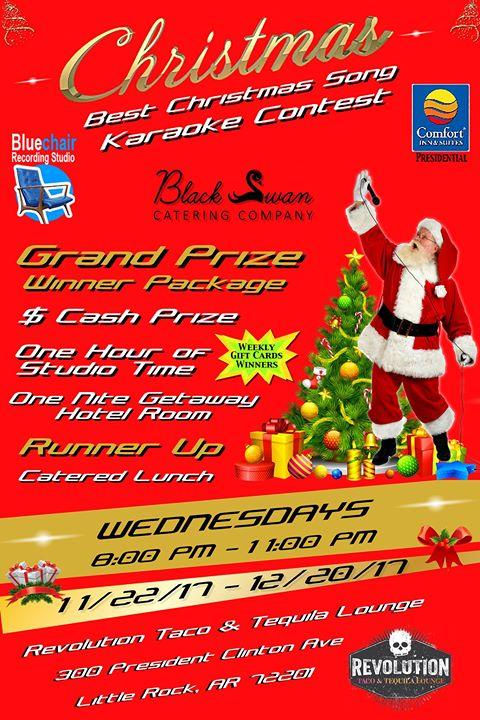 Best Christmas Song Karaoke Contest at Revolution Music Room