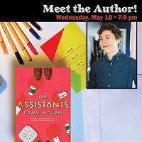 Author EventCamille Perri The Assistants