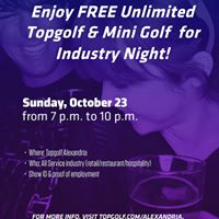 Topgolf Industry Night