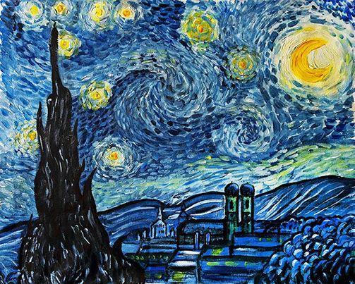 ArtMasters - Paint Party - Paint Like van Gogh