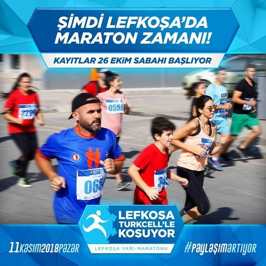 Lefkosa Maratonu 11 Kasim 2018 Pazar