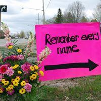 Lost But Not Forgotten HRC Survivors Memorial Procession