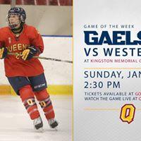 Game of the Week - Womens hockey vs Western