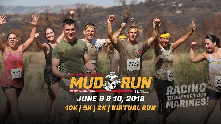 Image result for 2018 Marine Corps Mud Run Camp Pendleton