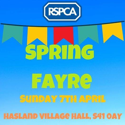 RSPCA Spring Fayre
