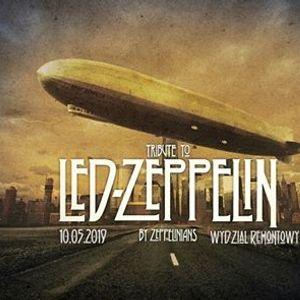 Tribute to Led Zeppelin 10.05.2019 Wydzia RemontowyGdask
