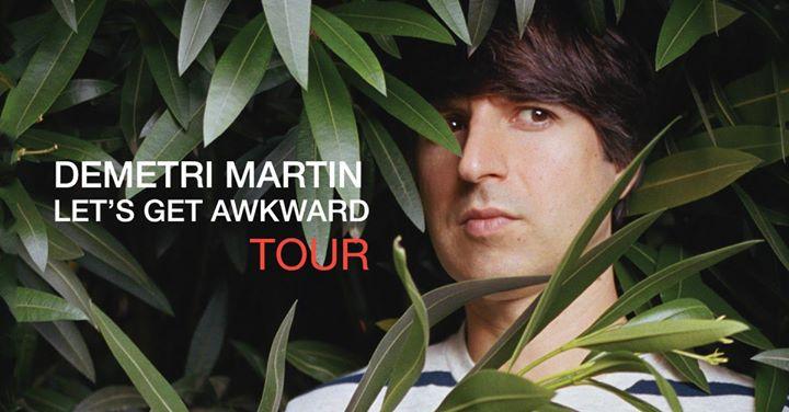 Demetri Martin Lets Get Awkward Tour