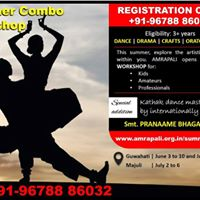 Amrapali Summer Combo Workshop 1-2017