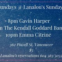 The KGB at Lanalous with Emma Citrine and Gavin Harper