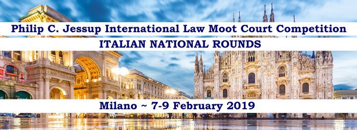 2019 Italian National Rounds - Jessup Competition