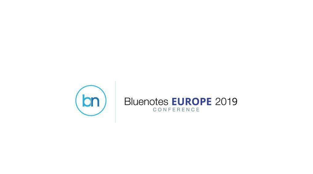 Bluenotes EUROPE 2019 Conference (to pay in GBP)