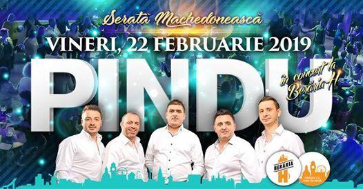 Serat Machedoneasc Pindu n concert la Berria H
