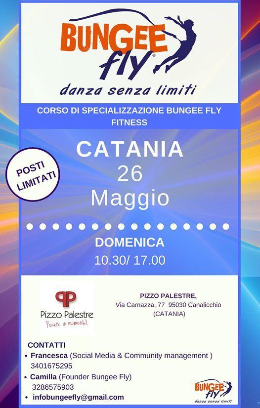 Catania - Corso di specializzazione Bungee Fly Fitness